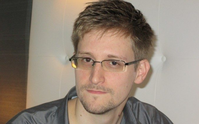 Edward Snowden, who worked as a contract employee at the U.S. National Security Agency, in Hong Kong on June 9. The information that Snowden has revealed about U.S. surveillance operations has been a propaganda gift to Beijing, because it altered the narrative about Chinese computer espionage operations, experts say. (AP Photo/The Guardian, File)