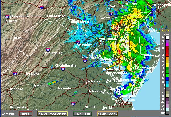 Tornadoes touched down in Sykesville and Baltimore in maryland on June 10, and tornado watches and warnings were issued across the state as well as Washington D.C. and Virginia. The watches and warnings have expired, while flash flood warnings remain in effect through the morning. (National Weather Service)