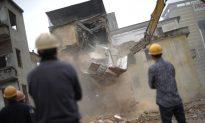 House Demolished While Couple Slept