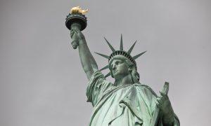 Lady Liberty 'Enlightening the World'