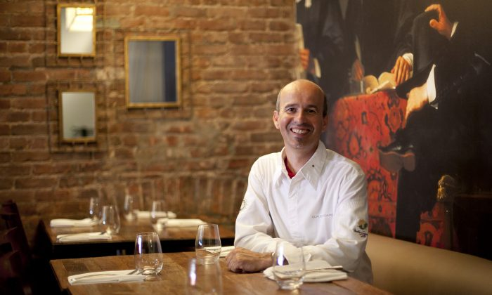 Claude Godard, owner and chef of Madison Bistro and Jeanne & Gaston, is one of New York City's few French master chefs. (Samira Bouaou/Epoch Times)