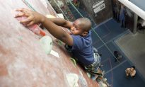 Rock Climbing and Learning Trust at Brooklyn Boulders