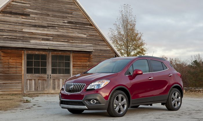 2013 Buick Encore (Courtesy of GM/Buick)