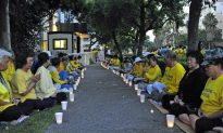 Candlelight Vigil Brings 14 Years of Persecution to Light