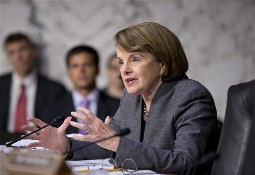 Sen. Dianne Feinstein, D-Calif. in a 2013 file photo. (AP Photo/J. Scott Applewhite)
