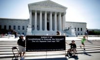 Anti-Death Penalty Activists Fast Near Supreme Court