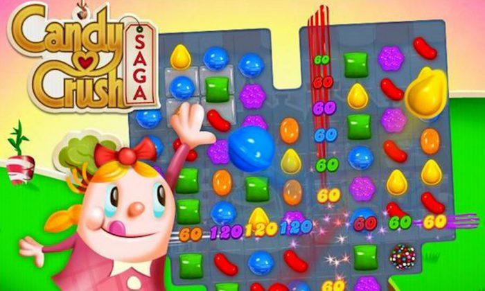 """Candy Crush Saga"" game screen. (Screenshot/Games.com)"