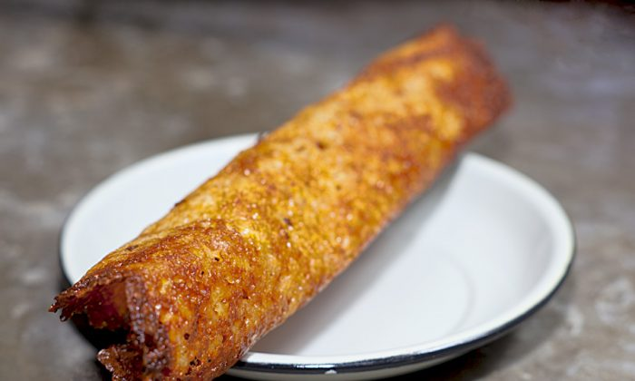 A Chicharron de Queso at Sembrado in the East Village. (Courtesy of Carlos Wittenstein)