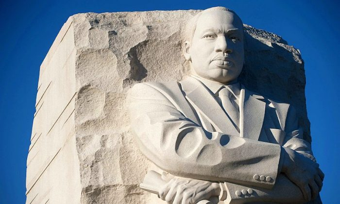 Martin Luther King Jr. Memorial. (Saul Loeb/AFP/Getty Images)