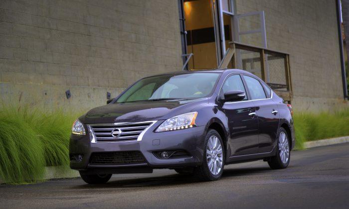 2013 Nissan Sentra (Courtesy of Nissan Canada)