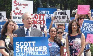 Stringer Gets Women's Support for Comptroller Race