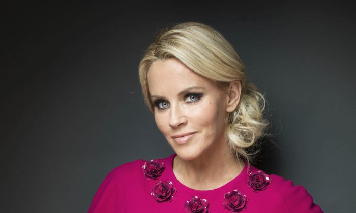 This Feb. 4, 2013 file photo shows American comedian, actress, and author Jenny McCarthy posing for a portrait, in New York. (Victoria Will/Invision/AP)