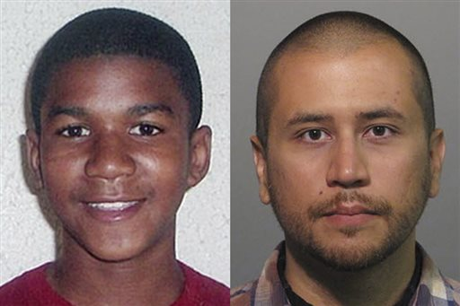 This combo image made from file photos shows Trayvon Martin, left, and George Zimmerman. (AP Photos, File)