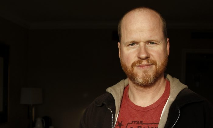 "This May 4, 2012 file photo shows writer and director, Joss Whedon, from the film ""The Avengers,"" posing for a portrait in Beverly Hills, Calif. (AP Photo/Matt Sayles, File)"
