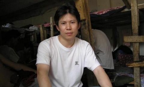 Xu Zhiyong, who was recently arrested in China for his activism. ()