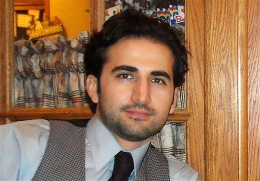 This undated file photo released by his family via FreeAmir.org shows Amir Hekmati who has been detained in Iran for over three years on accusations of spying for the CIA. (AP Photo/Hekmati family via FreeAmir.org, File)
