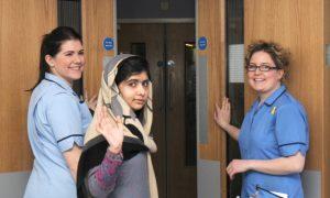 Shot Pakistani Activist Malala Will Push on With Campaign (+Video)