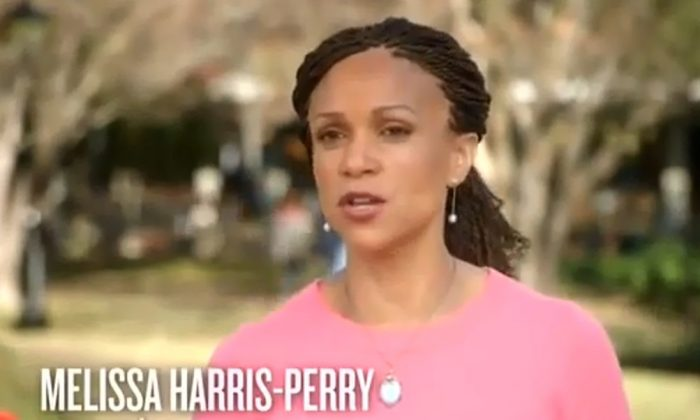A YouTube screenshot from last year shows MSNBC reporter Melissa Harris-Perry. (YouTube)