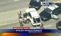 LA High Speed-Chase: Police Pursue Stolen Vehicle at 120MPH, Suspect Caught