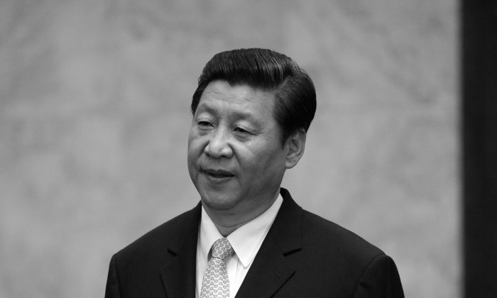 Xi Jinping in the Great Hall of the People in Beijing on June 14, 2013. Xi has been placing cadres associated with the Communist Youth League in local posts across China. (Goh Min Chin/AFP/Getty Images)