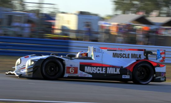Muscle Milk Picket Racing Clinches P1 Title at ALMS Baltimore Grand Prix Wreckfest
