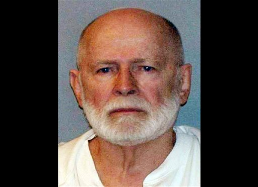 """This June 23, 2011, booking photo provided by the U.S. Marshals Service shows James """"Whitey"""" Bulger, who fled Boston in 1994 and wasn't captured until 2011 in Santa Monica, Calif., after 16 years on the run. (AP Photo/ U.S. Marshals Service, File)"""