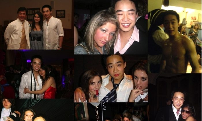 Photographs of Bo Guagua, the son of fallen Chinese official Bo Xilai, while at parties and frequently with young women were shared across Chinese social media websites with great interest. The activities of Bo Guagua have also been part of the discussion during the trial of Bo Xilai, who is charged with bribery, corruption, and abuse of power. (Weibo.com)