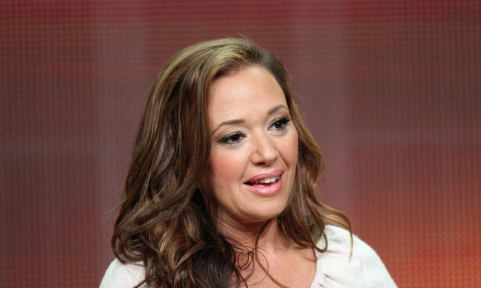 Actress Leah Remini speaks onstage at the 'Family Tools' panel during the Disney/ABC Television Group portion of the 2012 Summer TCA Tour on July 27, 2012 in Beverly Hills, California. (Photo by Frederick M. Brown/Getty Images)