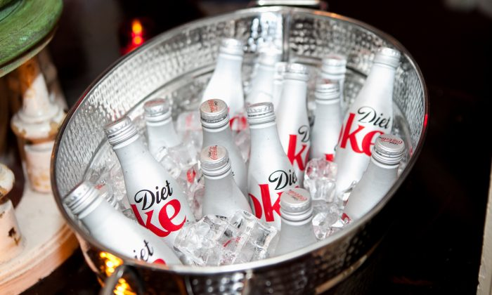 Diet Coke, which is sweetened with Aspartame. (Anna Webber/Getty Images for Glamour)