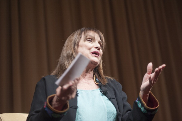 """Valerie Harper discusses and signs copies of her book """"I, Rhoda"""" at McGowan Theater on April 16, 2013 in Washington, DC. (Photo by Kris Connor/Getty Images)"""