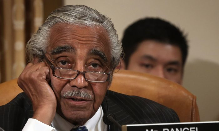 U.S. Rep. Charles Rangel (D-N.Y.) during a hearing on Capitol Hill, June 4, 2013. (Alex Wong/Getty Images)