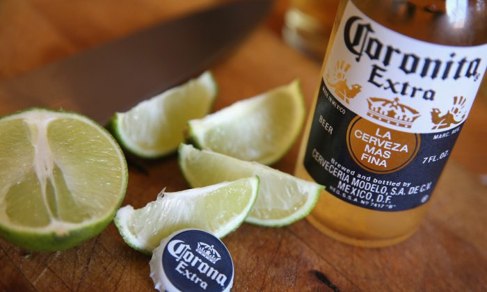 """Corona Extra 12-ounce bottles could contain """"small particles of glass."""" (Scott Olson/Getty Images)"""