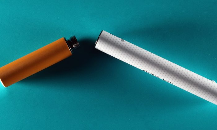 Photo of an electronic cigarette which replicates the act of smoking without the use of tobacco taken on June 12, 2013 in London. The cigarettes, which run on a rechargeable battery, turn nicotine and other chemicals into a vapor. (Oli Scarff/Getty Images)