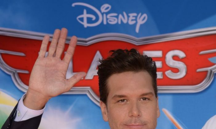 """Actor Dane Cook at the premiere of """"Planes"""" at the El Capitan Theatre on Aug. 5 in Hollywood, Calif. (Robyn Beck/AFP/Getty Images"""