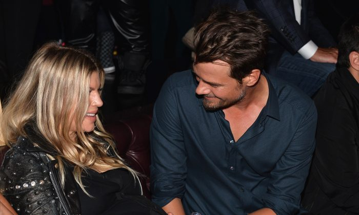 Singer Fergie and actor Josh Duhamel in Hollywood, California on August 20. Their new son is named Axl Jack Duhamel. (Alberto E. Rodriguez/Getty Images)