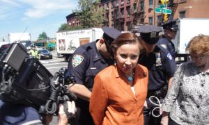 Congresswoman Velázquez Arrested at LICH Rally