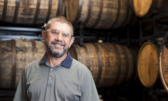 Steve Hindy, president of Brooklyn Brewery, at the brewery on Aug 20. (Samira Bouaou/Epoch Times)