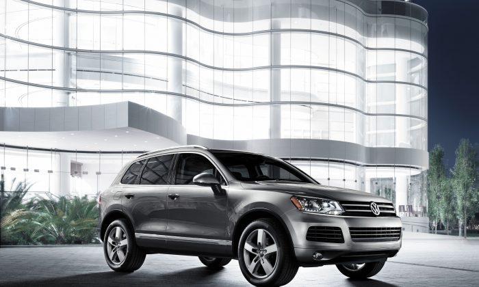 2013 Volkswagen Touareg (Courtesy of Volkswagen)