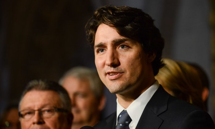 Liberal leader Justin Trudeau's frank admission that he smoked marijuana a few times in the past has prompted reporters to ask other elected officials whether they have ever toked. (Matthew Little/The Epoch Times)