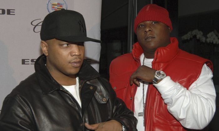 Rappers Styles P (left) and Jadakiss in 2007 (Phil McCarten/Getty Images)