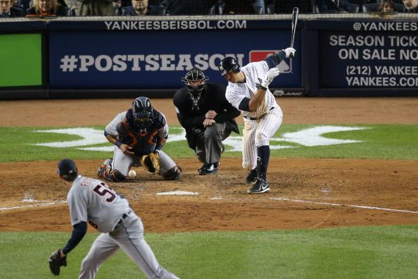Yankees third baseman Alex Rodriguez will make his 2013 season debut on Monday. (Photo by Bruce Bennett/Getty Images)