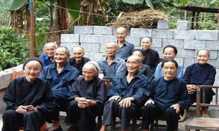 Bama centenarians. (www.chinagaze.com)