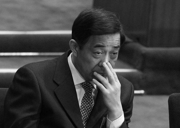 Bo Xilai attends the National People's Congress (NPC) on March 5, 2012, in Beijing, China. All traces of Bo have been removed from a museum in Dalian as the former Chongqing Party chief awaits a trial for corruption and other charges. (Feng Li/Getty Images)