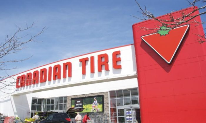 Canadian Tire is looking for a financial partner to share in the risk and reward for its credit card portfolio. (Pang Yue/The Epoch Times)