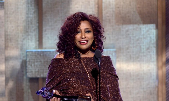 Chaka Khan onstage at BET Honors 2013 at Warner Theatre in Washington, D.C., on Jan. 12, 2013. (Kris Connor/Getty Images for BET)