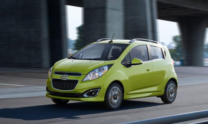 2013 Chevrolet Spark (Courtesy of NetCarShow.com)
