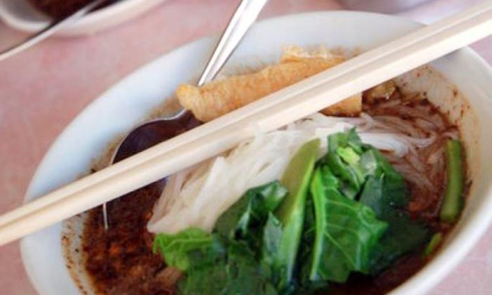 According to Chinese medicine, eating warm food, such as this Thai soup, is healthful. (James Burke/The Epoch Times)