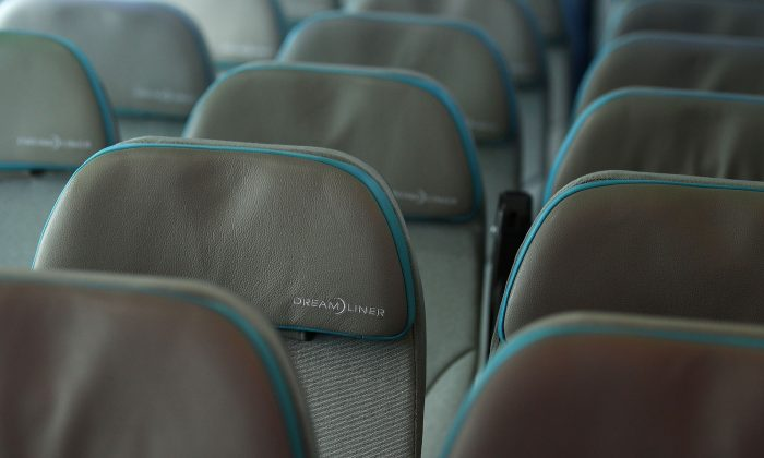 The interior of the Boeing 787 Dreamliner. Selecting your airline seat in advance can help accommodate your personal preferences.(Chris McGrath/Getty Images)