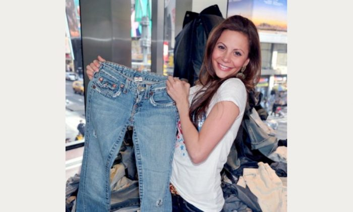 Bachelorette Gia Allemand attends DoSomething.org's 4th Annual Teens for Jeans initiative event at Aeropostale Times Square on January 30, 2011 in New York City. (Photo by Joe Corrigan/Getty Images)