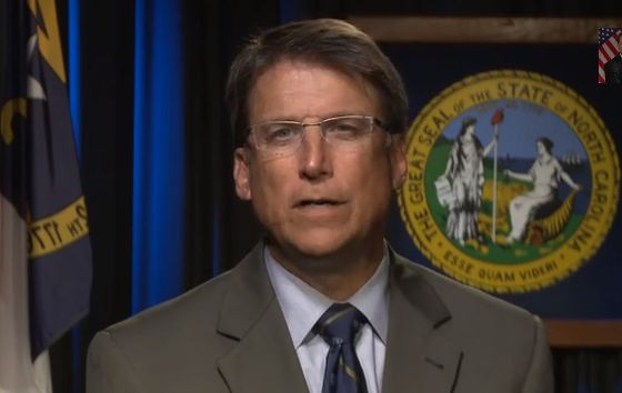 North Carolina Gov. Patrick McCrory defends the voter ID legislation he signed into law in a video uploaded to YouTube on Aug. 12, 2013. The state faces a lawsuit filed by civil rights advocates who say the law is discriminatory.